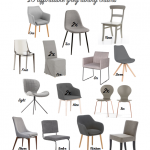 In Search of: Affordable Grey Dining Chairs