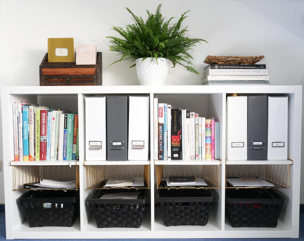 Ikea Kallex home office organization how to organise any room full f stuff allthelittledetails.de