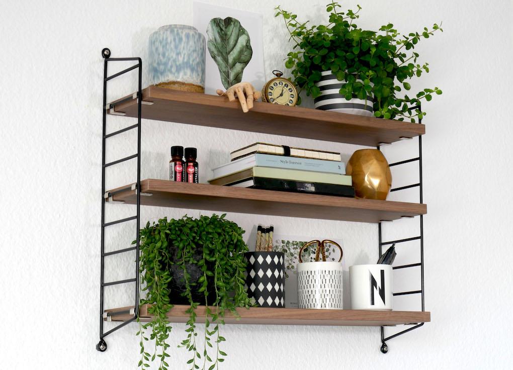 How to Style a String Shelf allthelittledetails.de