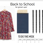 September Mood Board: Back to School for Grown Ups!