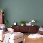 Hello Green: Two New Walls in my Living and Dining Areas